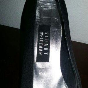 """Vintage"" Stuart Weitzman women's black pumps"